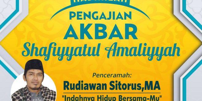 Pengajian Akbar Ypsa Oleh Ustadz Rudiawan Sitorusma