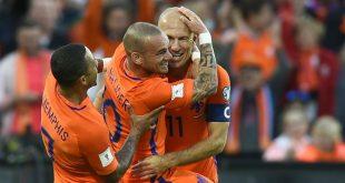 Telak, Pra Piala Dunia 2018, Belanda 5-0 Luksemburg