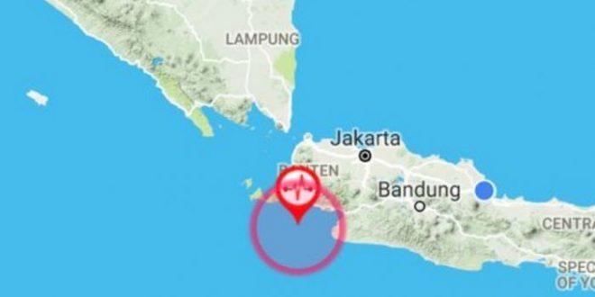 6,4 SR, Gempa Bumi Banten Terasa Hingga Jakarta dan Bandung