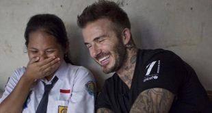 Satu Hari Sripun Sang Agen Perubahan Bersama David Beckham