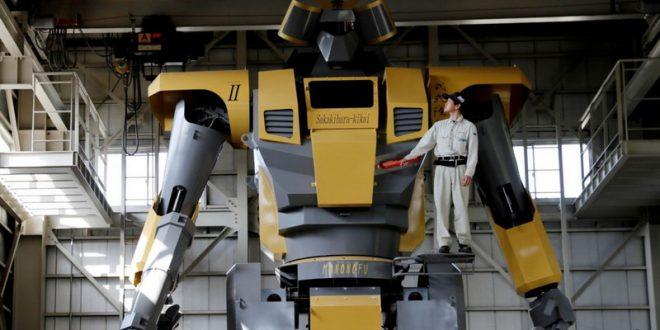"""Asli Nyata, Insinyur Jepang Menciptakan """"Gundam"""" Jadi Kenyataan"""