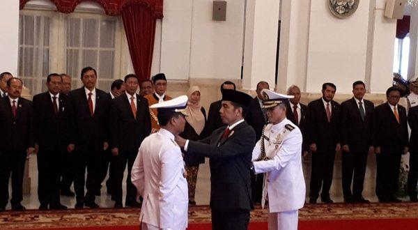 Presiden Pimpin Langsung Pelantikan KSAL Baru Di Istana Negara