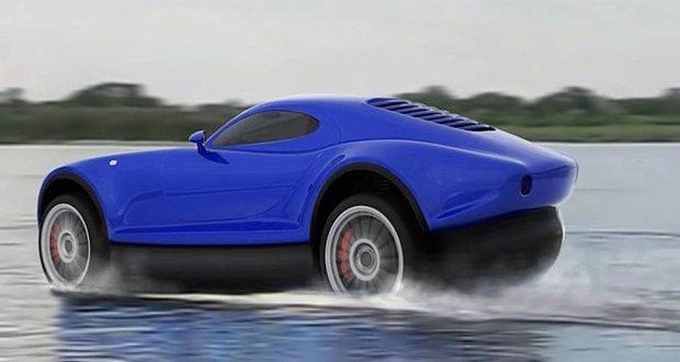 Yagalet Ciptakan Mobil Canggih yang Bisa Meluncur Di Atas Air