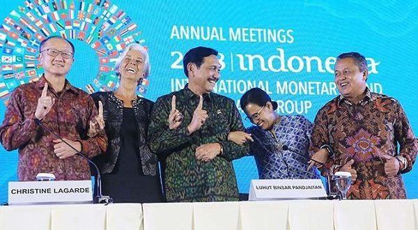 Mengejutkan, Ini 8 Hasil Kesepakatan Pertemuan World Bank-IMF Di Bali