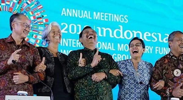 Kampanye Satu Jari Di Forum World Bank-IMF Menuai Kritikan Netizen