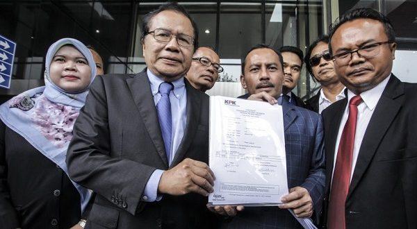 Dugaan Korupsi Impor Pangan, Rizal Ramli Serahkan Bukti Ke KPK