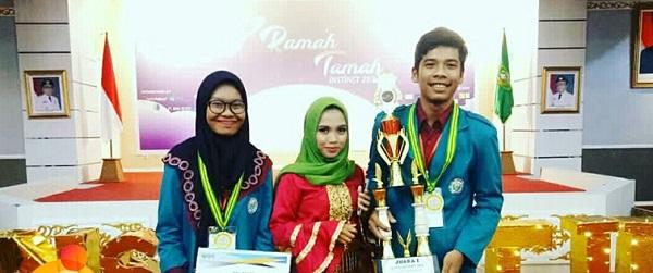 Mahasiswa Unimed Raih Juara 1 Lomba Karya Tulis Ilmiah Nasional INSTINCT-II