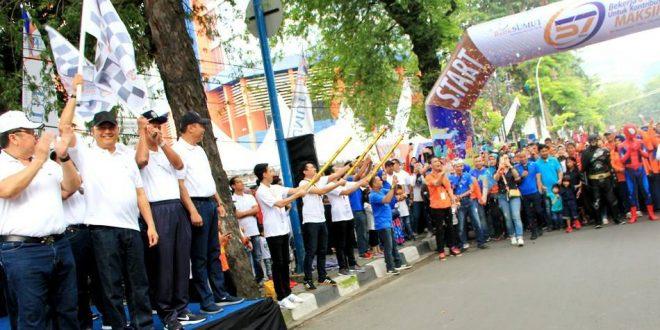 Gathering HUT ke-57, Tingkatkan Kekeluargaan & Silaturahmi KB Bank Sumut dan Nasabah