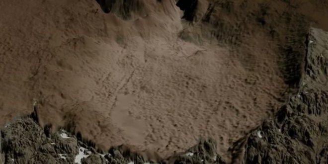 Ilmuwan Temukan Kawah Meteor Berusia 3 Juta Tahun Dibawah Es Greenland