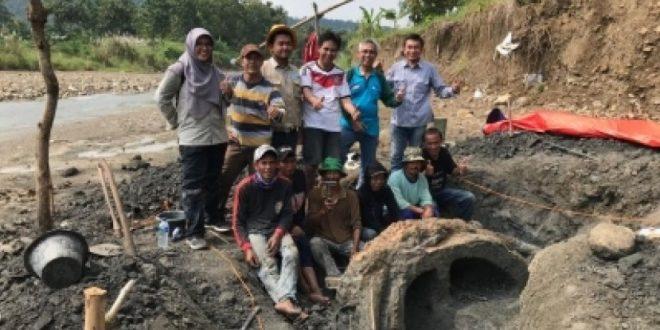 Tim Palentologi ITB Temukan Fosil Gajah Purba 1,5 Juta Tahun