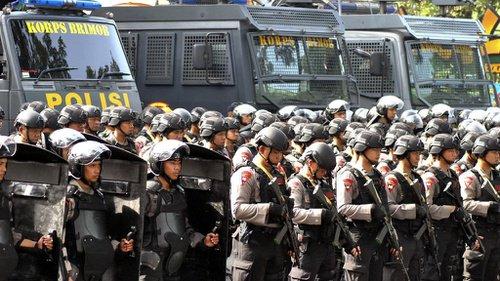 Ramai Brimob Dikirim Ke Jakarta, Polri Jelaskan Alasannya