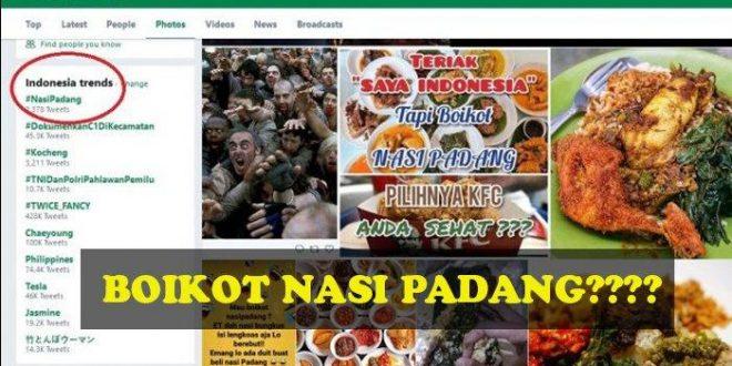 Sebelum Boikot Nasi Padang, Ini 7 Makanan Khas Padang Ternikmat