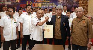 Pengurus KONI Kabupaten Asahan Periode 2019–2023 Dilantik