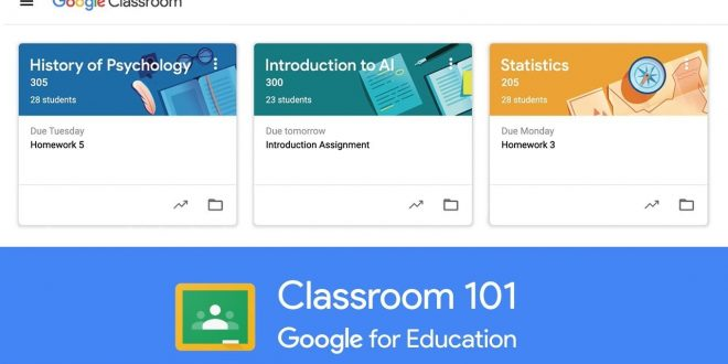 Cara Belajar Daring Dengan Google Classroom