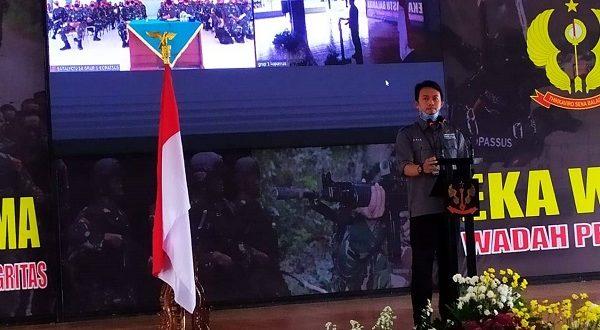 Perwakilan Ombudsman Banten Tandatangani Piagam Pencanangan Zona Integritas di lingkungan Grup 1 Kopassus