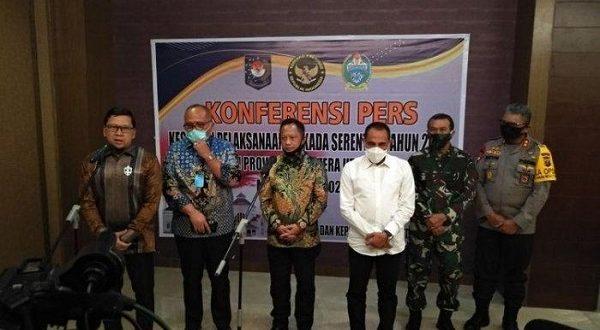 Saling Balas Kelakar Edy-Tito Soal Masalah Pilkada Serentak 2020