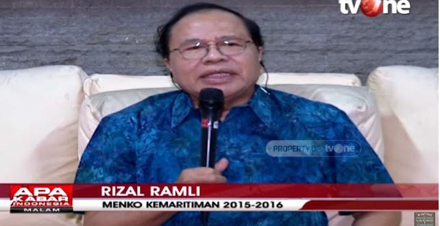 Rizal Ramli: Rakyat Mengalami Resesi, Pejabat Mah Kebal