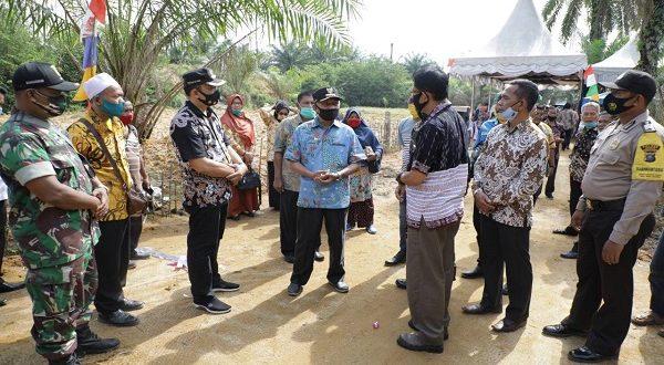 Pemkab Asahan Lakukan Langkah Antisipasi Banjir di Desa Lubuk Palas