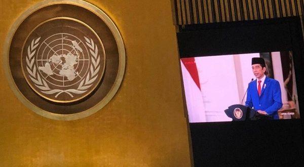 Sidang Umum PBB Virtual, Jokowi Dukung Kemerdekaan Palestina