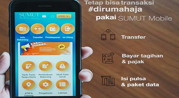 Jelang Libur Cuti Bersama, Bank Sumut Siagakan Layanan Mobile