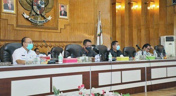 Bupati Asahan Sampaikan Jawaban Pandangan Umum APBD 2021