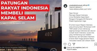 UAS & Masjid Jogokariyan Ajak Ummat Beli Kapal Selam Untuk RI