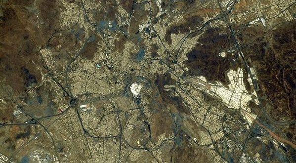 Astronot Jepang Rekam Keindahan Mekkah Dari Luar Angkasa