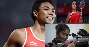 Jadwal  Pertandingan Indonesia di Olimpiade Tokyo, Zohri dan 3 Wakil Bulu Tangkis Beraksi