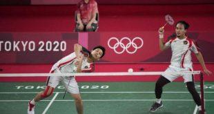 Ahsan/Hendra Meraih Juara Grup di Olimpiade Tokyo 2020